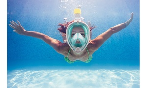 Breathefree GoPro Compatible Snorkel and Scuba Mask