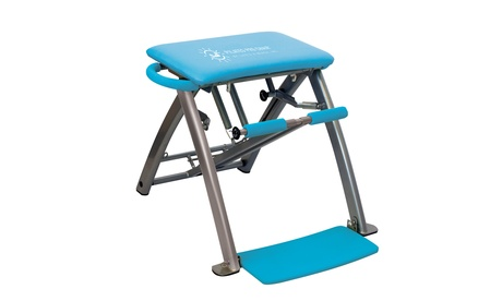 Pilates PRO Chair with 4 Workout DVDs by Life's A Beach