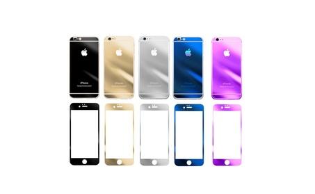 Screen Protector Mirror Effect Front Tempered Glass for Iphone 6 e6da3a38-e7d2-4626-9eca-9d6b250d4b7e