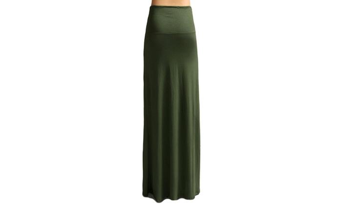 Azules Womens Maxi Skirt 9001RS-1