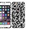 Insten Leopard Hard Hybrid Case For Iphone 6 Plus Black/white