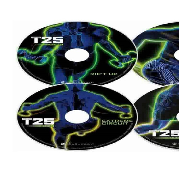 Focus T25 Full Fitness Workout 14 Dvd Set + Gamma & Resistance Band!