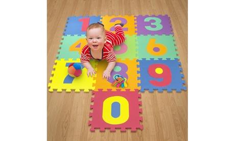 Matney Foam Floor Number Puzzle Mat for Kids b67013da-3660-4569-b824-6cf5a41a548d