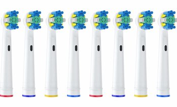 Replacement Toothbrush Brush Heads for Braun Oral-b Floss Action - 8 pack