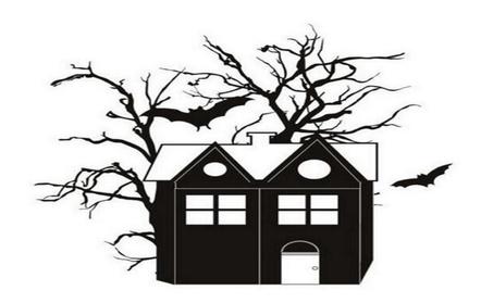 New Happy Halloween Household Room Wall Sticker 1d6ea306-75a4-439c-9914-6870ce3fdbe7