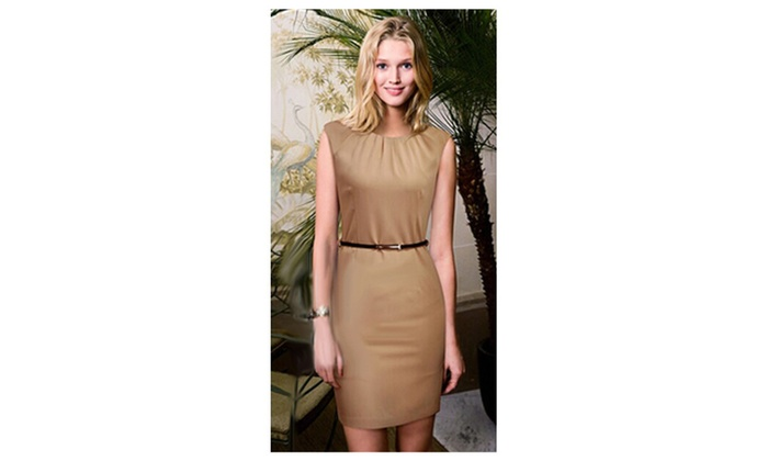 Women's Sleeveless Solid Pattern Vest Skirt Style – KMWD137-KMWD138