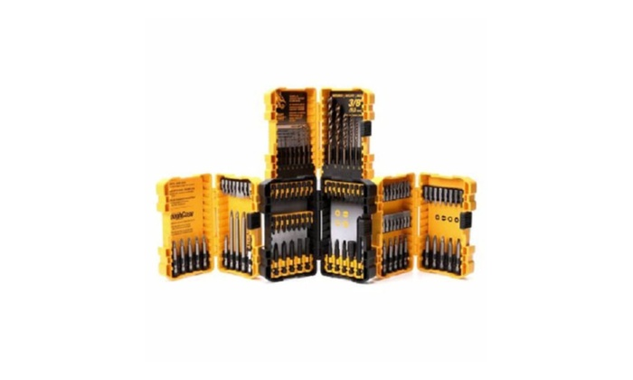 100 Pcs Home  Dewalt Drill Driver Bit Set Tough Cases - DWA24CASE2