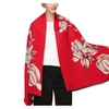 Women'S Warm Large Soft Jacquard Pashmina Tassel Scarves Shawl Wrap