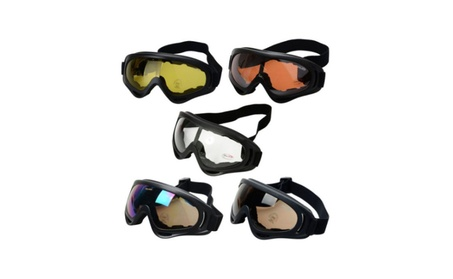 Kite Surfing Jet Ski Tactical Airsoft Glasses Sport Outdoor Motorcycle - Orange 92f771f6-e0ed-4bc3-887b-be13af8986b8