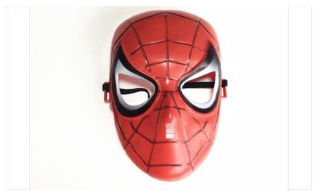 Spider man mask for Halloween or birthday party e2e6c14e-db8d-42ec-bbdf-1624d8f803e2
