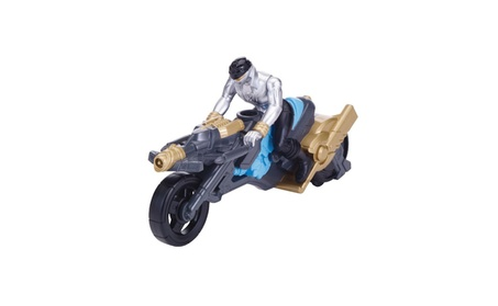 "Power Rangers Super Megaforce - Turbo Cycle and 4"" Silver Ranger Actio 087db5eb-2b63-45e2-96cd-c51b2a8146a2"