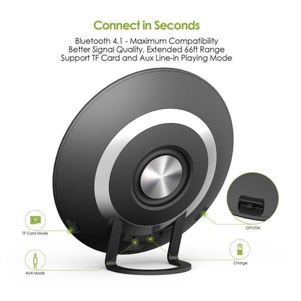 Bluetooth Speaker Wireless Speaker Loud Sound 20W Enhanced Bass with 4 EQ MODES