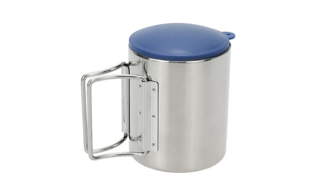 Stainless Steel Outdoor Travel Mug Portable Camping Picnic Water Cup 50afc904-aee2-4905-9cfc-d8ea57666582