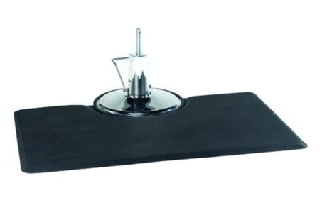 "Black Rectangle 5'x3'7/8""Thick Barber Salon Anti Fatigue Mat Beauty b121ce84-6f15-499c-a95d-c2f2ac72a7f1"
