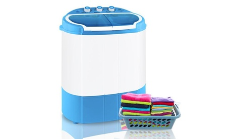 Compact & Portable Washer & Dryer, Mini Washing Machine and Spin Dryer PUCWM22 photo
