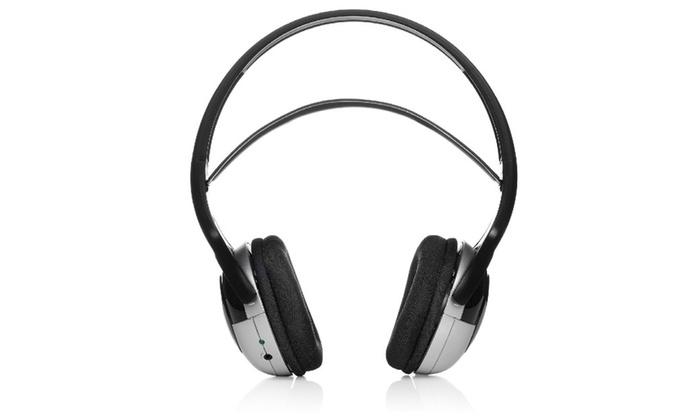 dc425fdfc9e Unisar Tv Listener J3 Extra Headset Wireless Headphones for Tv   Groupon