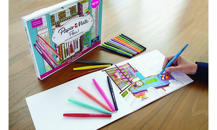 34 Coloring Pens For Coloring Books - Free Printable Coloring Pages