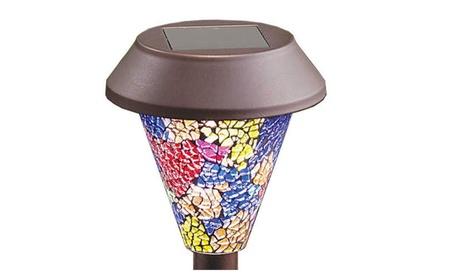 Superior Mosaic Design Pathway Lights For Home Decor Solar Powered 562198ac-41e2-4730-bd4c-a1af3f01e7f2