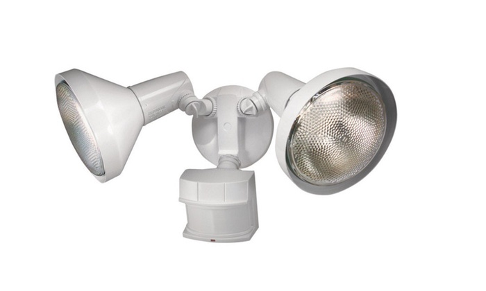 Heath Zenith Dualbrite Motion Sensor Light, 240, White