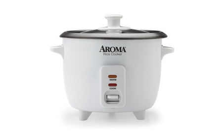 Aroma 6-Cup Pot-Style Rice Cooker 943d6569-82b6-4c33-8616-a6a40f8effe3