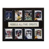 """NCAA Football 12""""x15"""" Ole Miss Rebels All-Time Greats Plaque"""