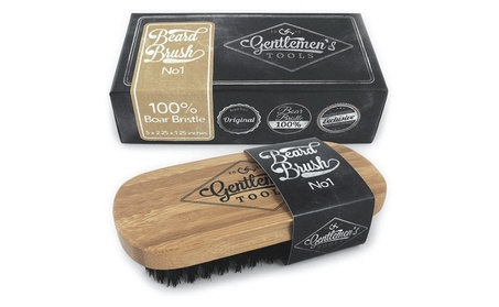 Beard Brush for Men - 100% Natural Boar Bristle with Bamboo Handle 58f08455-cc5d-4a56-a47c-b96a1e8763c3