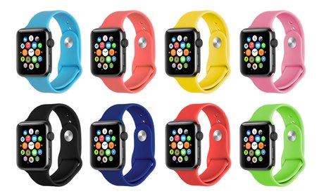Soft Silicone Sports Band for 38
