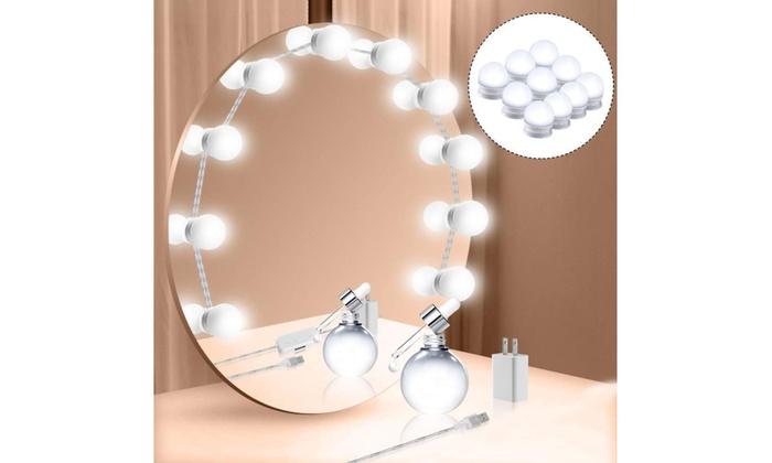 Up To 58 Off On Hollywood Style Led Vanity Mi Groupon