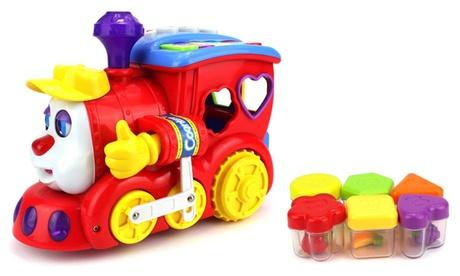 Smart Cartoon Piano Train Educational Children Kid's Bump and Go Toy Train 9a4b9723-57d2-40f2-930f-8e5ddbe4e02d