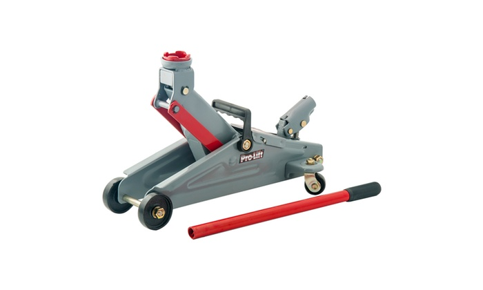 Up To 52 Off On Pro Lift Hydraulic Floor Jack Groupon Goods