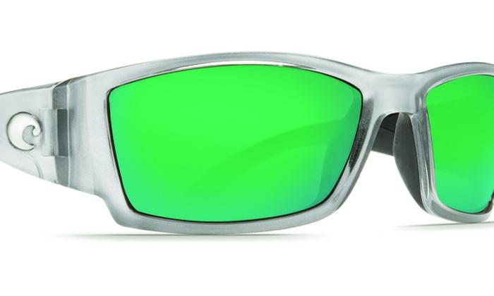 f8b8317358 Costa Del Mar Corbina CB 18 OGMGLP Silver   Green Mirror 580G