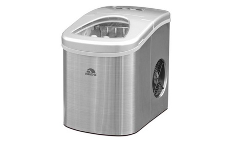 Compact Ice Maker Stainless Steel 2226a9cf-9e05-4359-a6e1-3ca9513a1287