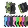 Hybrid Defender Case Cover With Belt Clip for iPhone 5 5s SE