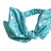 Girls Bow Headband Turban Knot Rabbit Ear Headband