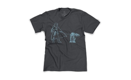 Darth Vader Walking an AT-AT Funny Star Wars Sci-Fi T-Shirt d559e3a5-0f7c-4523-affc-2f55b78eedb6