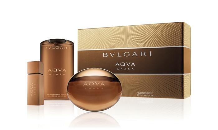 Ultramoderne BVLGARI Aqva Amara Spay Eau De Parfum Shampoo and Shower Gel Gift ZD-88