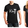 Queen & King Matching T-Shirts, Couple Outfit