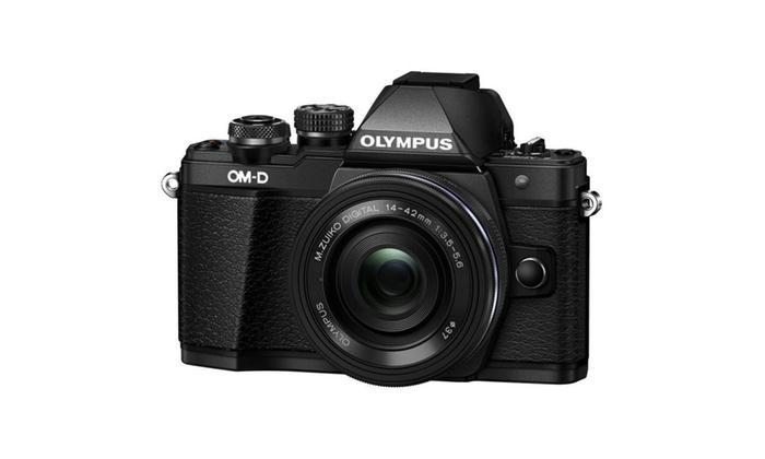 Olympus OM-D E-M10 Mark II Digital Camera with 14-42mm EZ Lens (Refurb