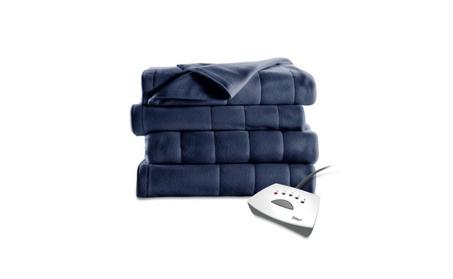 Electric Heated Fleece Throw Blanket 759fb183-eaa9-47ad-aec3-e2b0e5d42694
