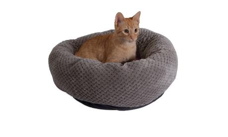 "Jackson Galaxy 18"" Donut Cat Bed 13fd5584-691c-4f18-8679-104263745a4c"