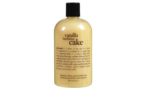 Philosophy Vanilla Birthday Cake Shower Gel 16 oz / 480ml