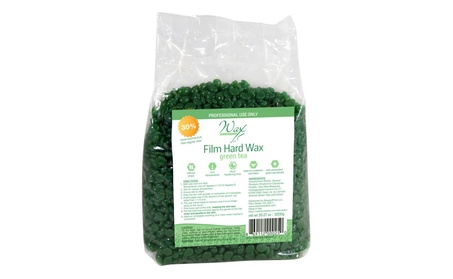 Wax Necessities Film Hard Wax Beads - Green Tea 35.27 oz (1000g) 06a97517-883b-4542-a844-666e3bad43a9