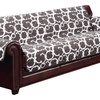 Geometric Quilted Reversible Furniture Slipcover for Chair, Loveseat, or Sofa