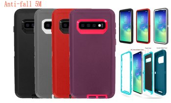 3-in-1 Hybrid  Protective Case For Samsung S10 /S10e/S10 Plus,Anti-fall 5M