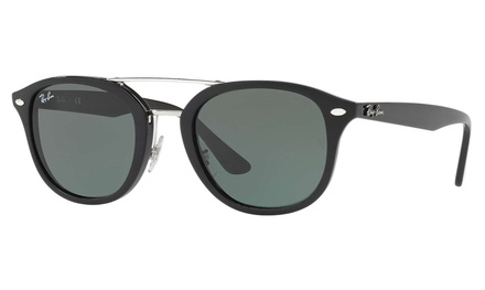 Ray-Ban RB2183 Sunglasses (Black/Green Classic) Was: $199 Now: $79.