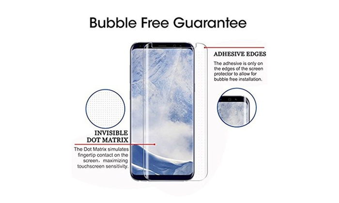 Samsung Galaxy S9/S9 Plus 3D Curved Edgeless Tempered Glass