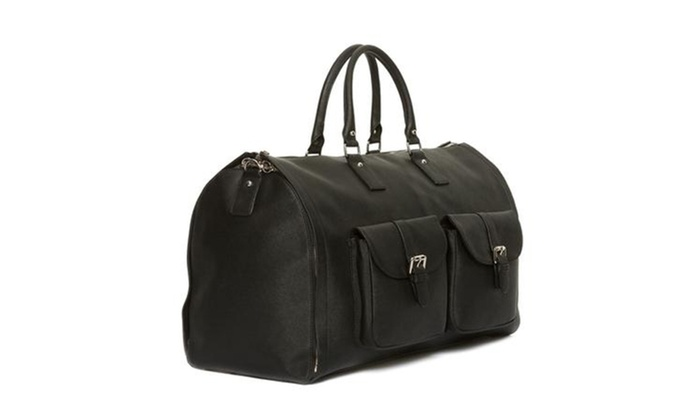 2-in-1 Convertible Duffel Carry-On Travel Bag and Suit Carrier bec446ed058c0