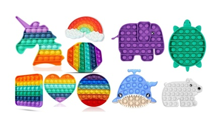 Push Pop Bubble Sensory Fidget Toys- 1,2,3,4, & 6 pack sets available