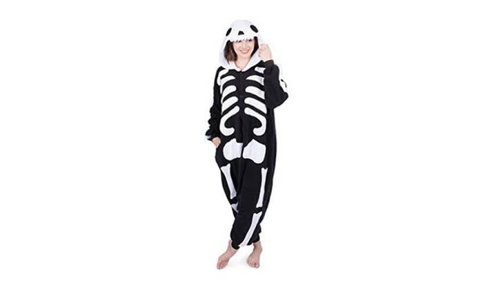 e28ddd6c5c Up To 42% Off on Skull Onesie Costume Pajamas ...