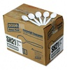 Dixie SH217 Plastic Tableware Heavyweight Soup Spoons, 1000/Carton